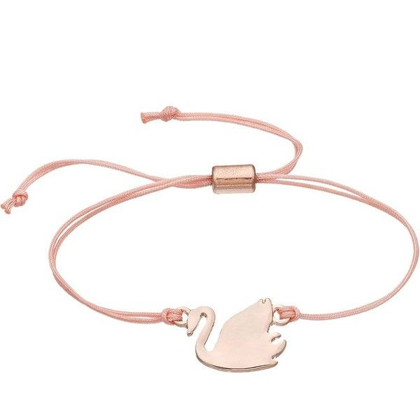 LC Lauren Conrad Swan Pink Cord Slipknot Bracelet (11 CAD) ❤ liked on Polyvore featuring jewelry, bracelets, pink, lc lauren conrad jewelry, cord jewelry, pink jewelry, lc lauren conrad and nickel free jewelry