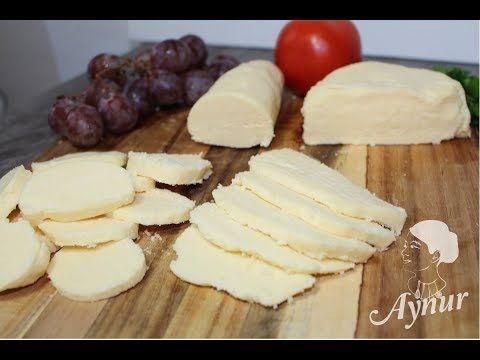 Doğal mayasiz Hollanda peyniri I Ev yapimi peynir - YouTube