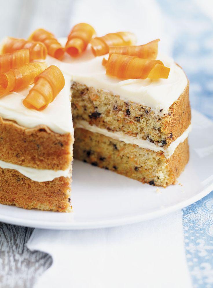 Recette de Ricardo de gâteau aux carottes et au chocolat