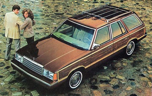 1982 Plymouth Reliant LE Station Wagon had this same color without the wood trim & luggage rack