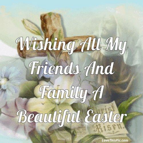 Volendo Tutti i miei amici e familiari A Santa Pasqua