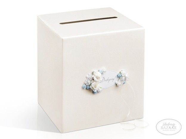 Pudełko na koperty kremowe