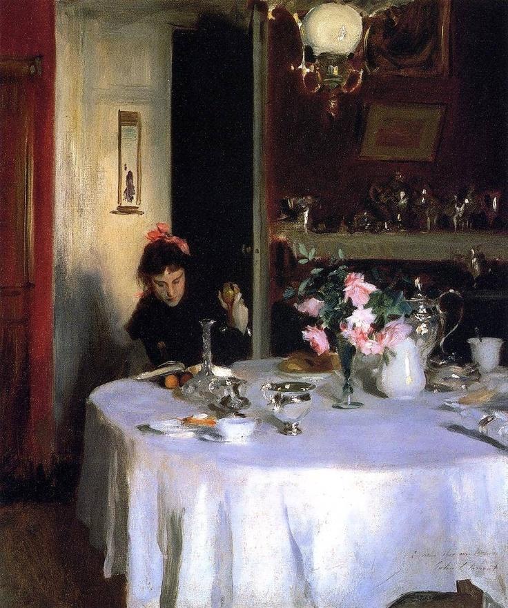The Breakfast Table - John Singer Sargent