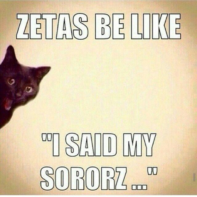 Zeta Phi Beta humor