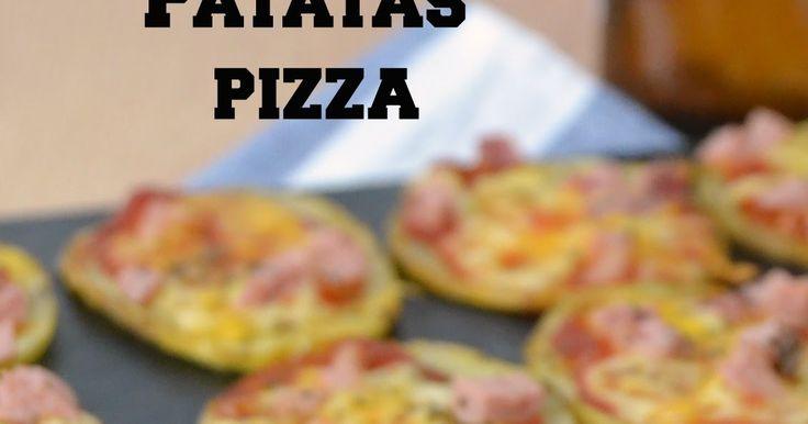 Patatas pizza, un aperitivo que os encantará. La receta es muy fácil ¡No os la perdáis!