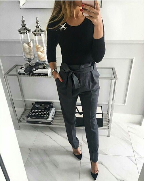 17 Best Stylish Winter Work Outfit Ideas 1