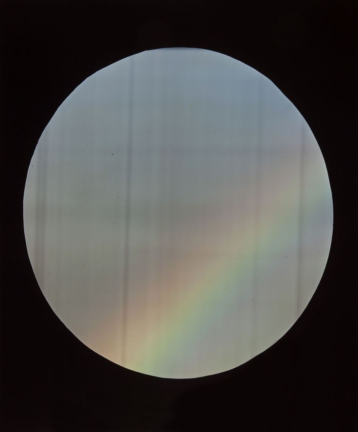 Darren Glass, Rainbow #003 2015 C-type print 208 x 609mm
