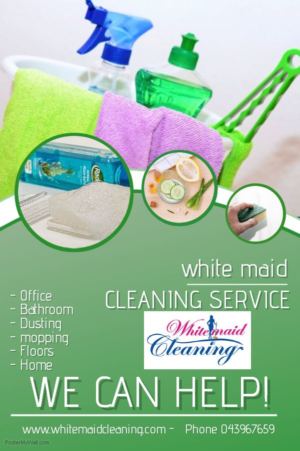 If you are looking for trustworthy people to clean your flat/villa/office and to leave your kids with while you are working, we can help you! We are providing part time cleaning and nanny service. We do hourly charges. We provide in DUBAI area only. If you are interested with the service we are giving call us at 0506950073/043967659 for inquiry and booking. Website:  www.whitemaidcleaning.com                     Email:whitemaidcleaning@gmail.com