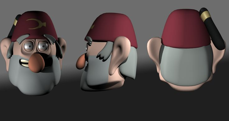 Stan Pines - 3D Model by J3DQD.deviantart.com on @DeviantArt