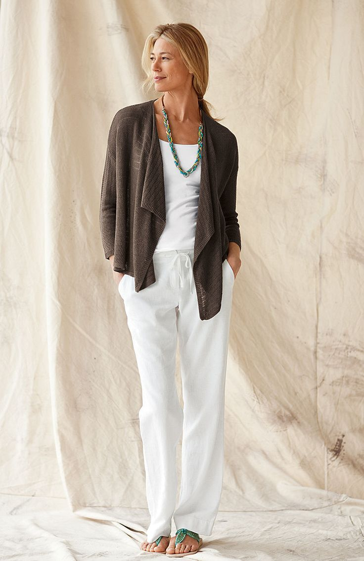 25 Best Ideas About Linen Pants Women On Pinterest