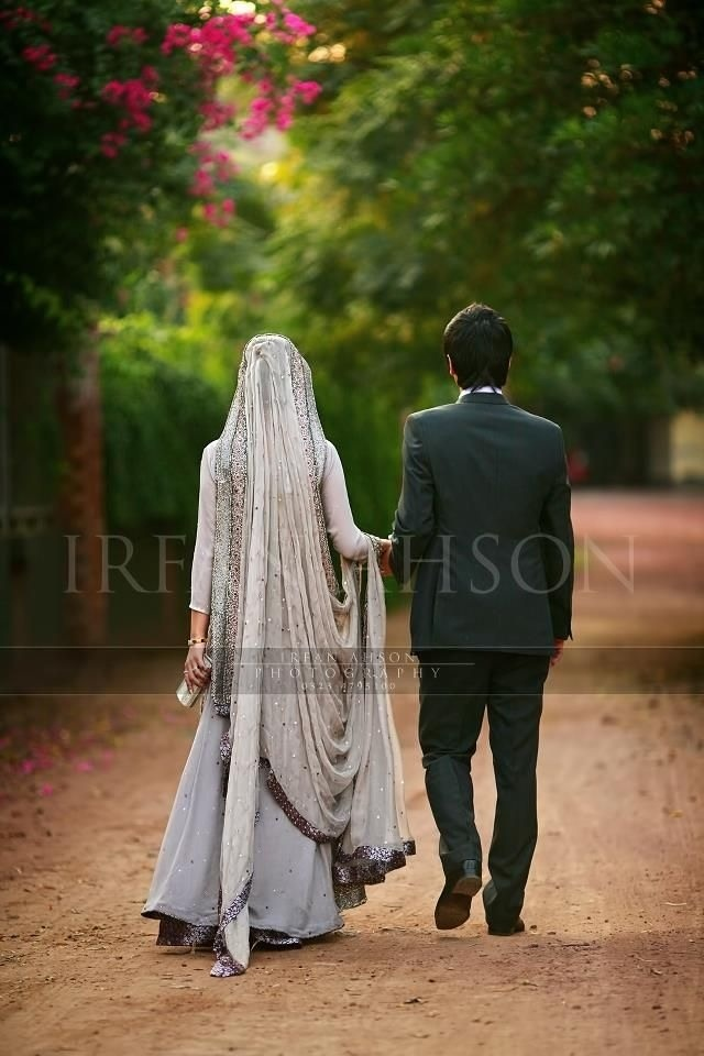 Ivory & Purple Bridal Lengha