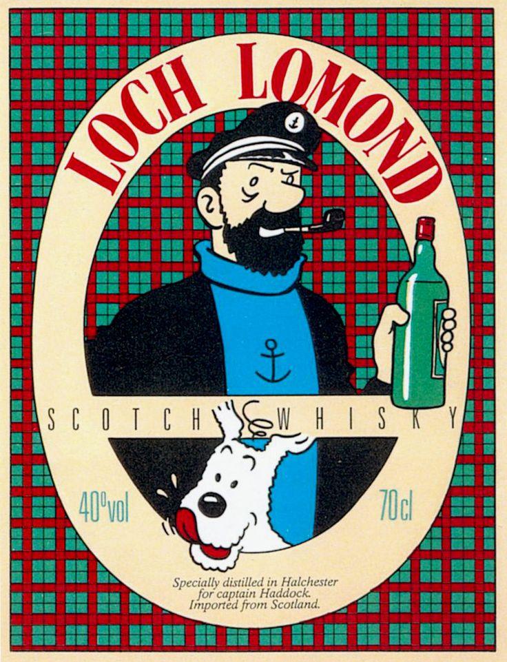 Loch Lomond, el whisky del capitán Haddock