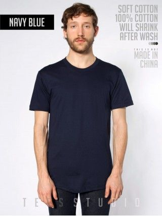 NAVY Blank Basic O neck - Tees Studio