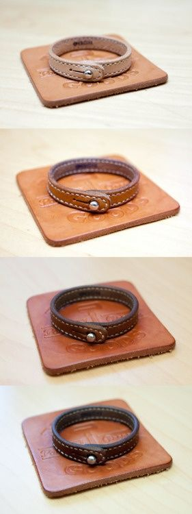 Not found. | natural leather aging process: one day, six months, three months.