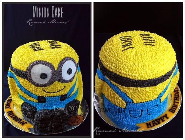 25 Best Minion Cake Decorations Ideas On Pinterest