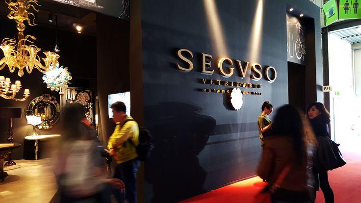Seguso at Salone del Mobile 2016 Milan Furniture Fair