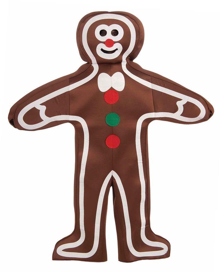 Adult Tasty Gingerbread Man Costume