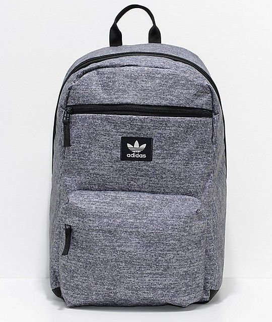 ADIDAS NATIONAL BACKPACK - GREY - NEW WITH TAGS - FREESHIPPING ... 6d0b5638a307d