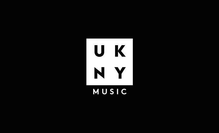 UKNY Music Events Branding Logo. Designed by White Bear Studio.