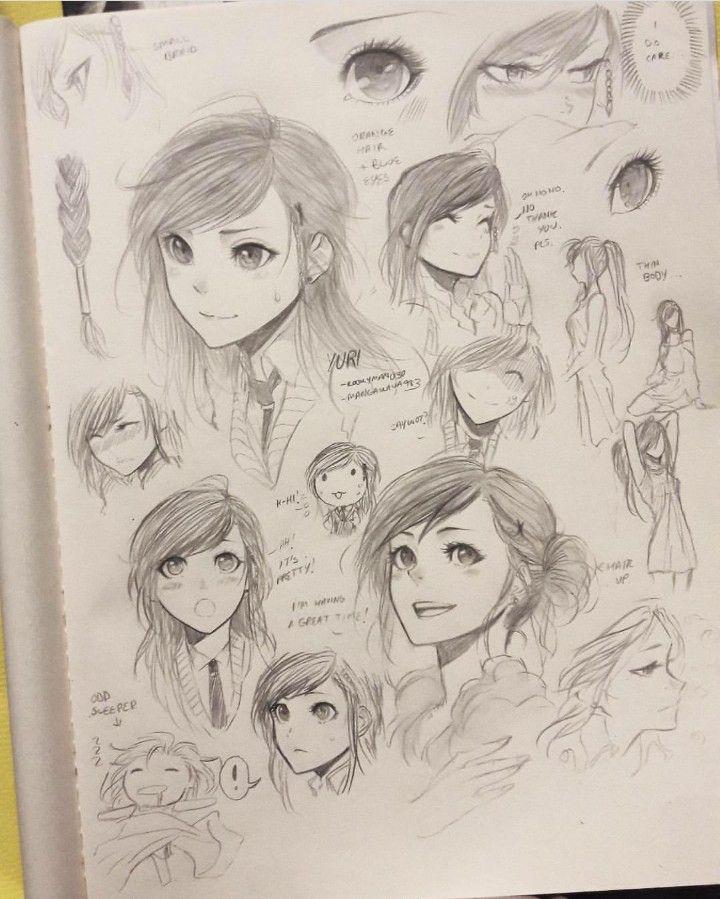 Creating A Female Character Artist Mangakaua983 Character Drawing Anime Art Tutorial Manga Drawing