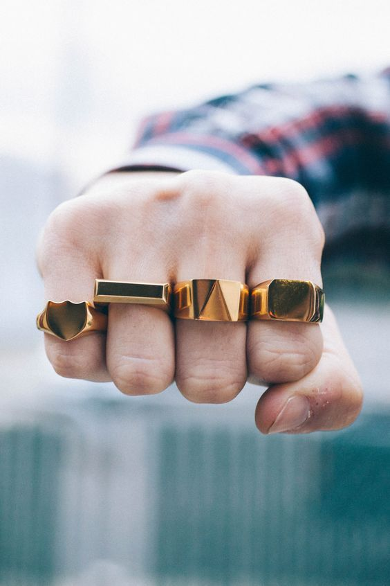 Stylish and edgy Rings