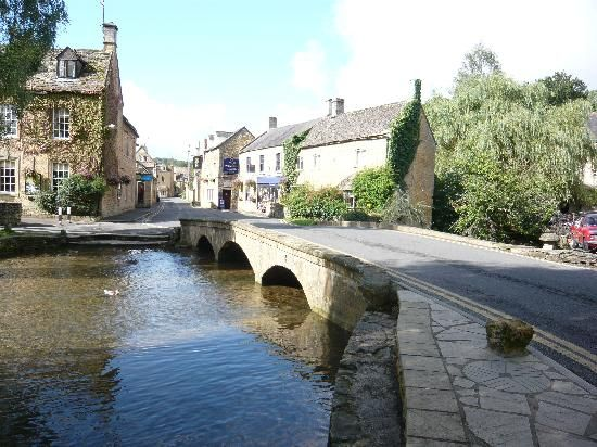 Bourton on the Water -  Gloucestershire -  Cotswolds Area of Outstanding Natural Beauty