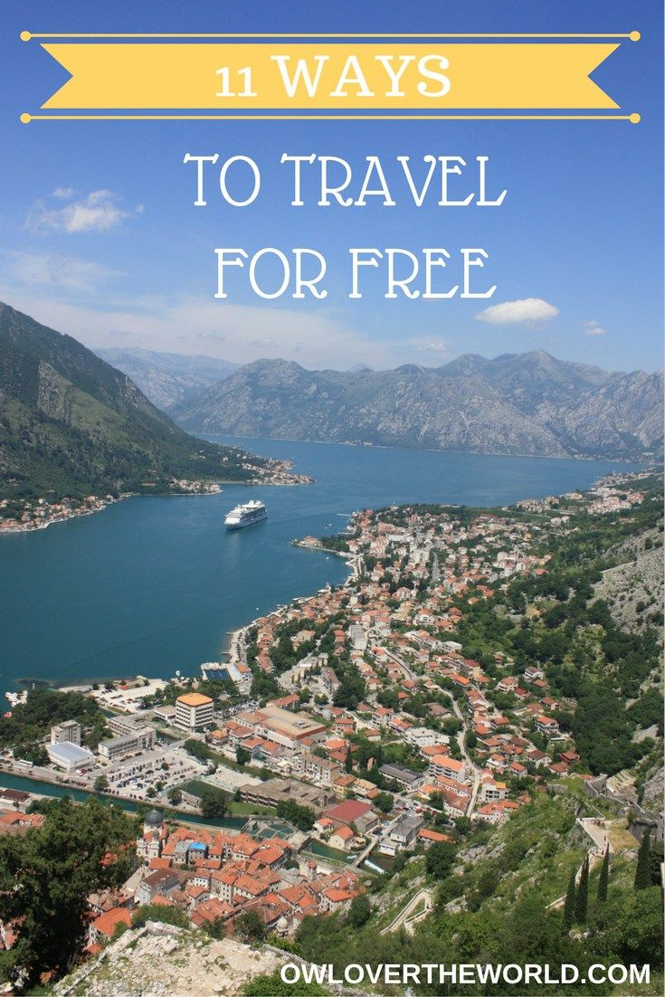 A lot of people think that to travel the world you need to be rich, win the lottery or something, but that's not true. The tour companies, hotels, and media make you think like that. In reality, you can travel the world for cheap and even for free. Today I'm going to share with you 11 ways to travel for free, and for some of them, you can even get paid.  Travel for free / Free travel / Travel tips / How to travel for free / How to travel on a budget / Travel on a budget /