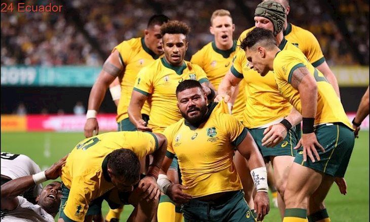 Highlights Australia Vs Fiji Rugby World Cup 2019 Rugby World Cup Australia Rugby World Cup