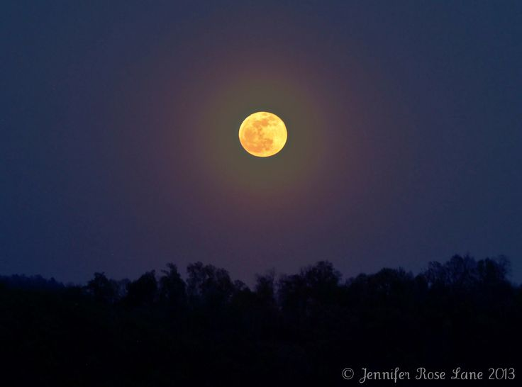 Jennifer Rose Lane sent in this image of the full moon taken in Chapmanville, W. Va. on April 25, 2013
