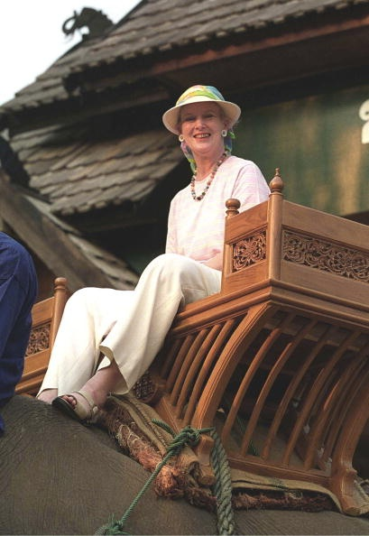 Queen Margrethe, February 8, 2001