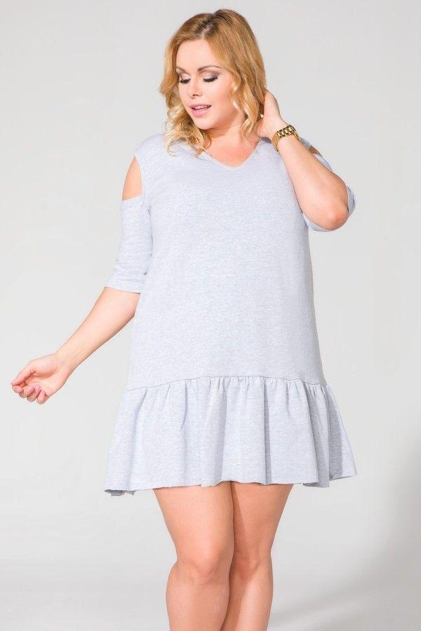 Sukienka T113 Size Plus