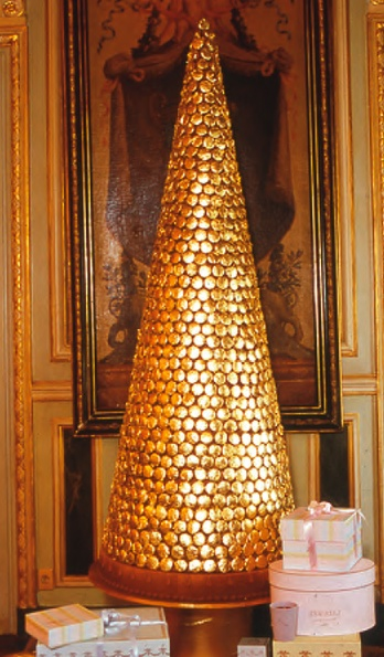 Laduree Croquembouche Or Piece Montee French Wedding