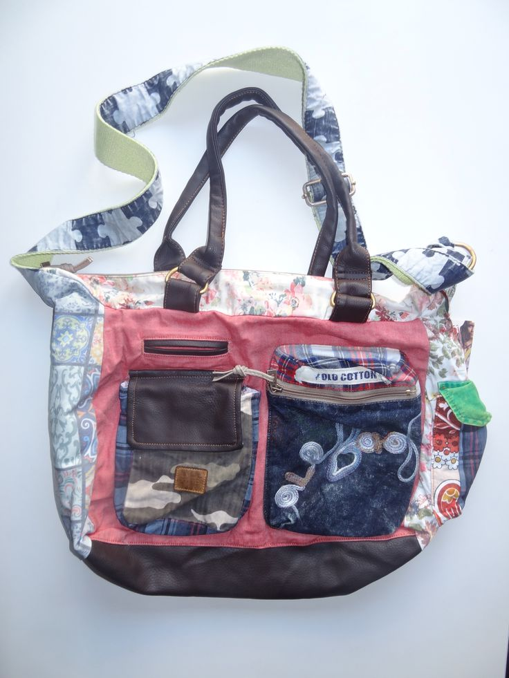 Old Cotton Cargo Bag - BAG#23 (59,- €)