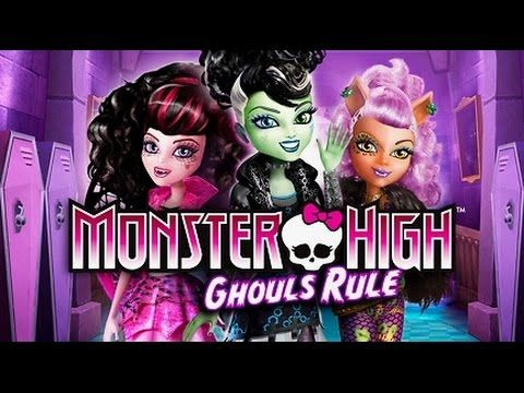 Monster High™ Ghouls Rule! Full Movie HD - YouTube