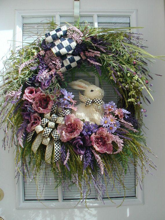 566 Best Easter Spring Wreaths Images On Pinterest