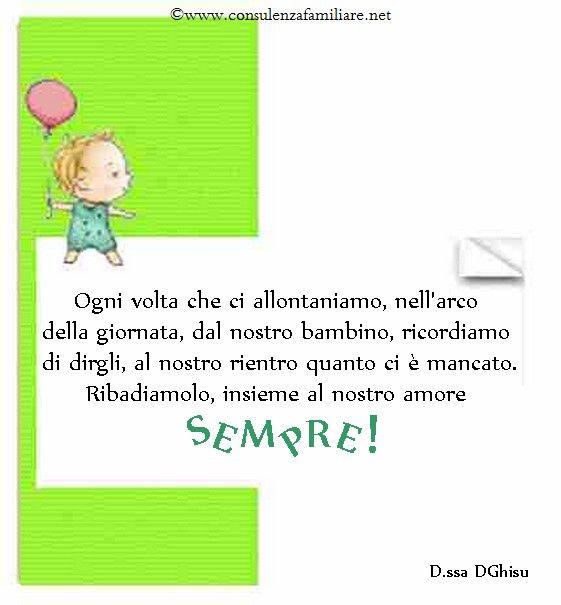 Dimostriamo sempre ai nostri #figli il nostro amore, anche con le parole…