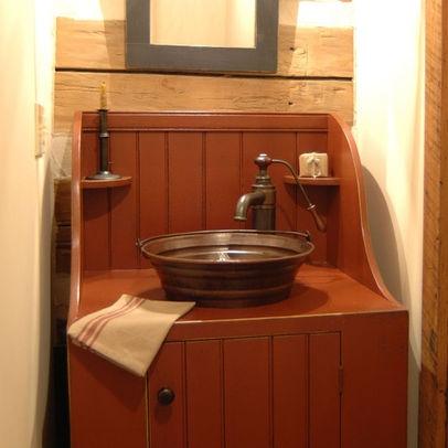 46 Best Images About Prim Bathroom On Pinterest David