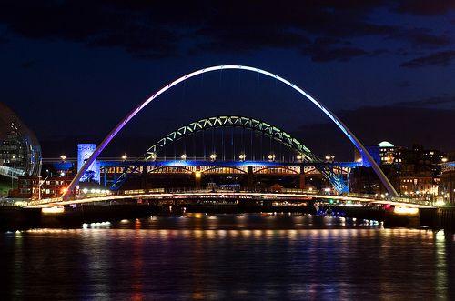 Bridge Over The River Tyne