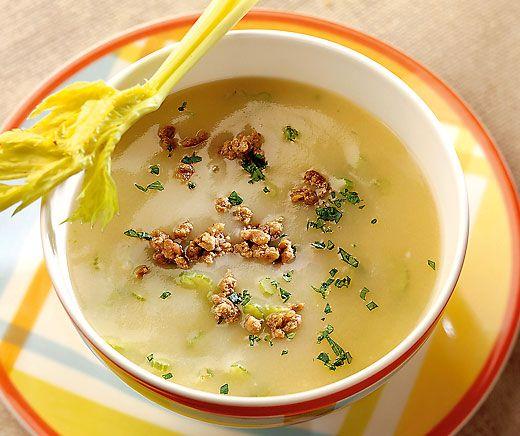 Kartoffel-Hackfleisch-Suppe