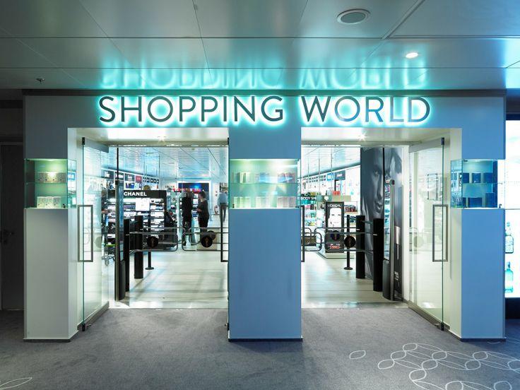 Viking Gracen Shopping World on Itämeren suurin tax-free-myymälä. www.vikingline.fi