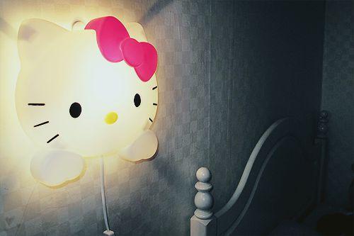 hello kitty night light - want it