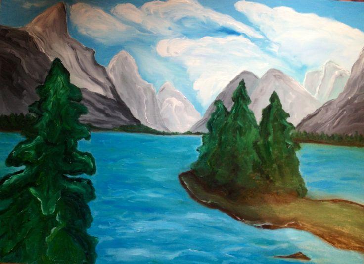 Lake Jasper. Oil on canvas. Maryrosenakamurafineart@gmail.com