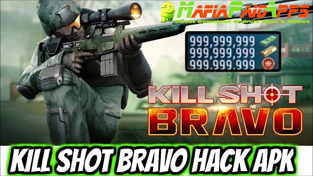 Kill Shot Bravo: Sniper FPS v4.4.1 Apk Mod (No Sway) for android    Kill Shot Bravo: Sniper FPS Apk  Kill Shot Bravo: Sniper FPS is an Action Games for Android  Download last version of Kill Shot Bravo: Sniper FPS Apk  Mod (No Sway) for android from MafiaPaidApps with direct link  Tested By MafiaPidApps  without adverts & license problem  without Lucky patcher & google play the mod   The #1 Army Sniper Shooter. Go to War in the Best of Free 3D Gun Shooting Games!  Kill Shot Bravo is a game…