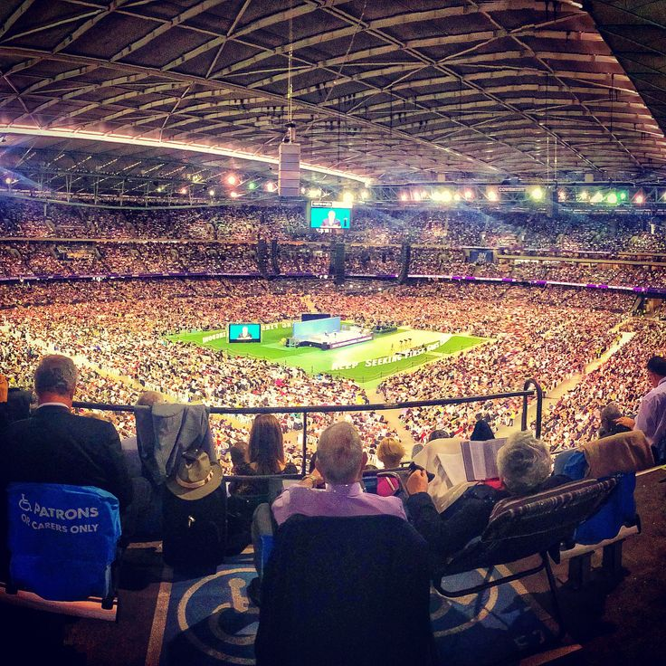 "Melbourne International Convention of Jehovah's Witnesses 2014 - Keep Seeking First  God's Kingdom""©ajwatson82"