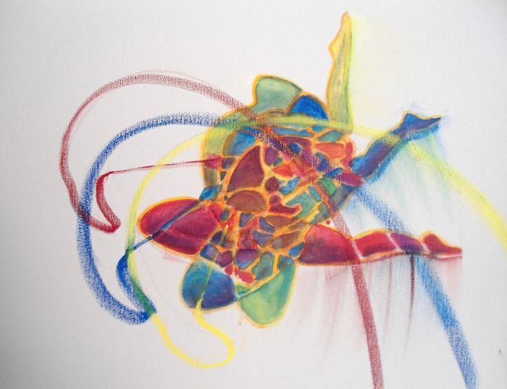 Acrylics instructional video lesson: Rhythm Gymnast by Gavin Mayhew at ArtTutor.