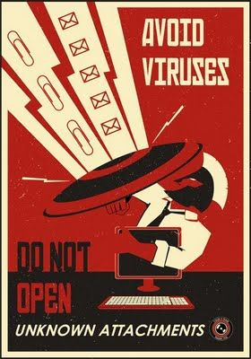One of a series of really cool old-style propaganda posters for the modern office!