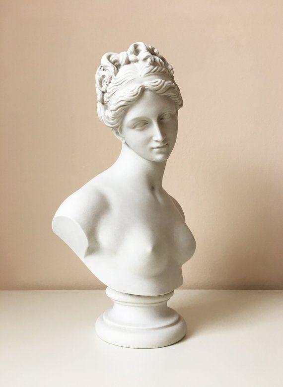 Venus Bust Sculpture Venus With The Apple By Thorvaldsen Etsy Bust Sculpture Marble Sculpture Ancient Greek Sculpture