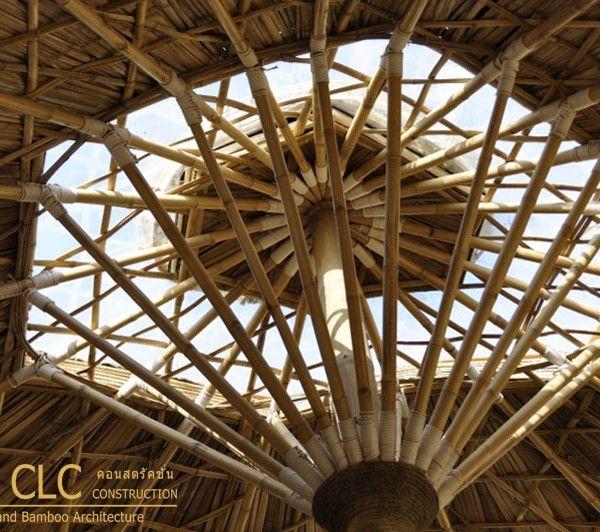 bamboo detail #chiangmailifeconstruction #bambooarchitecture #eartharchitecture