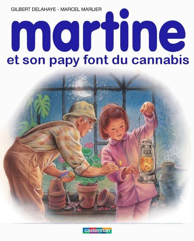 Martine et son papy font du cannabis @besssof