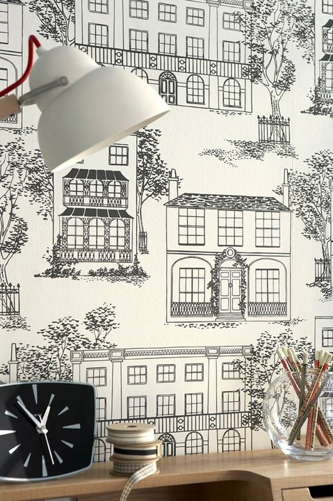 This is a great wallpaper from Little Greene: Hampstead - (c.1949). Does what it says on the box.